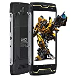 Smartphone Impermeable, CUBOT King Kong CS IP68 Móvil Libre Impermeable 4400mAh 3G Smartphone 5.0 Pulgadas Android 10.0 Dual SIM Quad-Core 13,0MP Cámara 2GB+16GB, Black