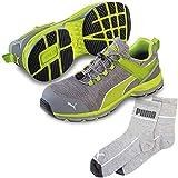 [プーマ] 安全靴 エキサイト 2.0 イエロー ロー ロー 25.5cm ソックス 靴下付セット 64.231.0