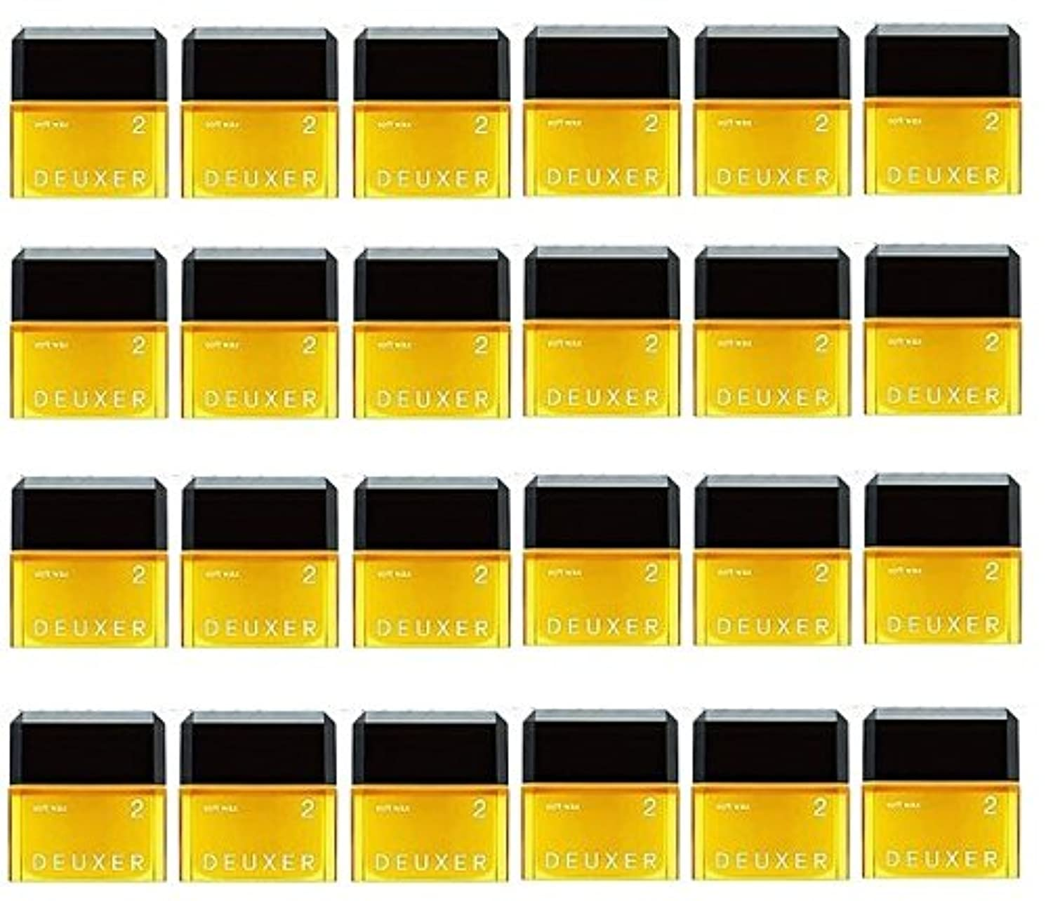 近傍仕立て屋解釈的【24個セット】ナンバースリー デューサー ソフトワックス 2 80g
