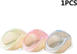 Onior 1ピース耐久性のあるプラスチックハムスター砂風呂砂風呂容器付きスクープペット用品用ハムスタートトロ使用ランダムカラー