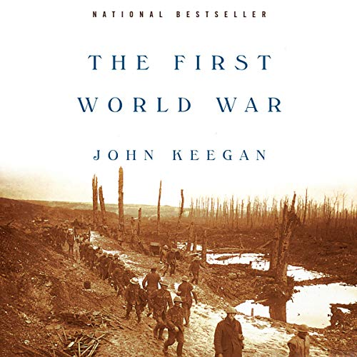 The First World War audiobook cover art