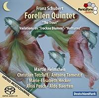 Franz Schubert: Trout Quintet / Trockne Blumen Variations / Notturno[Hybrid SACD] by Martin Helmchen (2009-03-31)