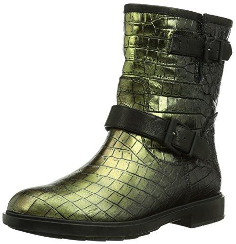 Fratelli Rossetti Damen Biker Boots, Schwarz (Bronzo 90/Nero 01), 39 EU