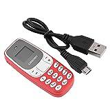 Socobeta Mini teléfono Celular Bluetooth Teléfono móvil T