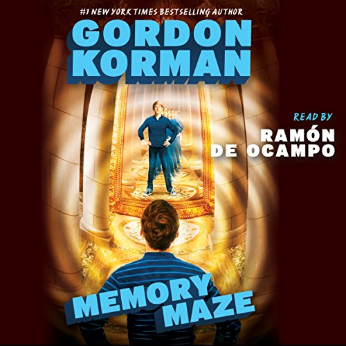 Memory Maze audiobook cover art