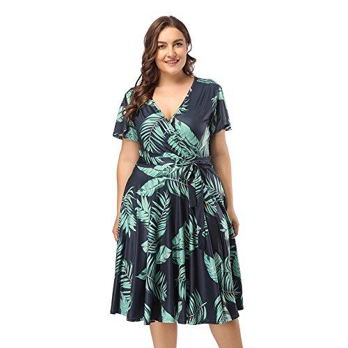 Lover-Beauty Vestido Mujer Corto Midi Dress Verano Fiesta Noche Dama de Honor...
