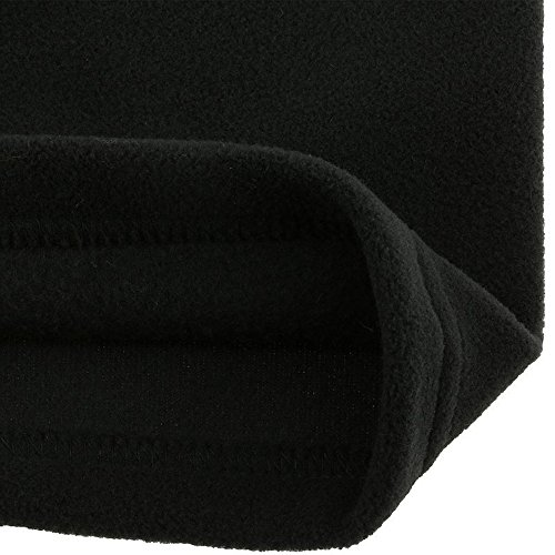 WED'ZE FirstHeat KIDS Thermal Fleece Ski Scarf/Neck Warmer Snood for Skiing, Snowboarding, Cycling, Running, Hiking, Outdoors - Childrens (Black)