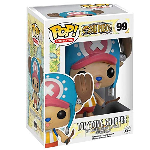MXXT Funko Pop Animtion : One Piece - Tony Tony Chopper Figure 3.75inch Vinyl Gift for Anime Fans Chibi