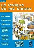 Le lexique de ma classe CP-CE1