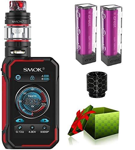 SMOK G-PRIV 3 Kit 230W Cigarette électronique Kit Complet de Débutants Vape TC Écran Tactile Box Mod avec Réservoir tfv16 lite EU Tank 2ml Vapoteuse Haut de Gamme Sans Nicotine Ni Tabac (noir)