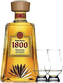 1800 Jose Cuervo Tequila Reposado 0,7 Liter  2 Glencairn Gläser