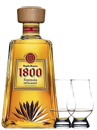 1800 Jose Cuervo Tequila Reposado 0,7 Liter + 2 Glencairn Gläser
