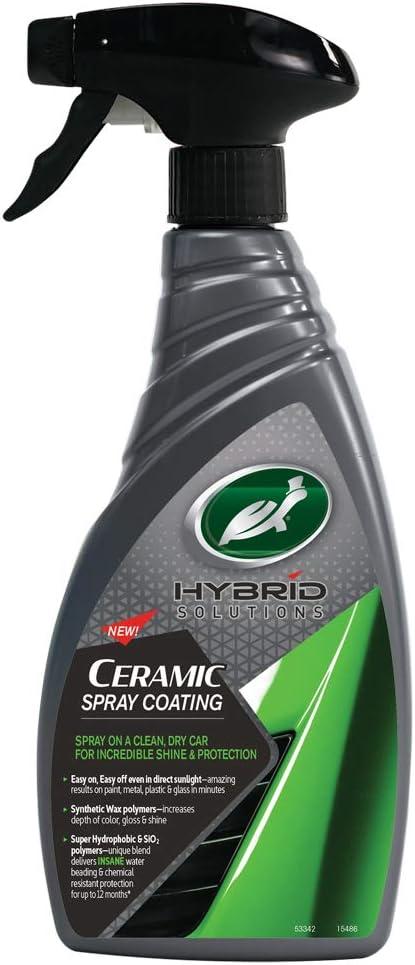 Turtle Wax 53342 Hybrid Solutions Ceramic Revestimiento De Cera Premium para Automóviles 500Ml