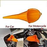 SayHia Moto Voiture ravitaillement Multi-Fonctionnel Plus Longue trémie Essence Moteur Huile Diesel additif...