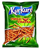 Kurkure is the perfect savoury snack to have at tea time Spice up your life with chilli chatka Made with trusted kitchen ingredients: 100 percent veg