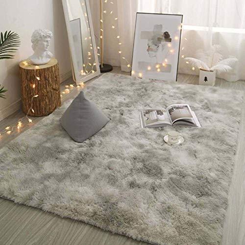 ERTYR Zottelige langhaarige Teppiche in verschiedenen Farben100 * 200 cm