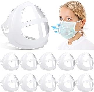 KOTONAMI 3D Maskenhalter, 10 Stück Interne Halterung Aus Silikon für Maskenmasken