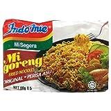 Indomie Mi Goreng Instant Stir Fry Noodles, Original Version with Chili Powder, Halal (Pack of 40)