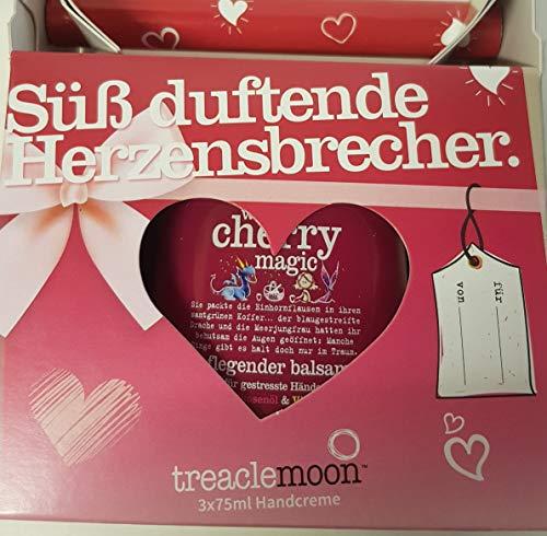 Treaclemoon Handcreme Geschenkset Süß duftende Herzensbrecher 3 x 75 ml