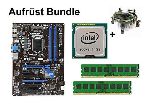 Aufrüst Bundle - MSI Z68A-G43 + Intel Core i5-3450 + 8GB RAM