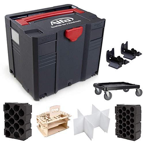 Systainer SYS 4 T-LOC Systemkoffer-Konfigurator mit passenden Einsätzen und Kartuschen Bau-Silikon Sockelleistenkleber Acryl
