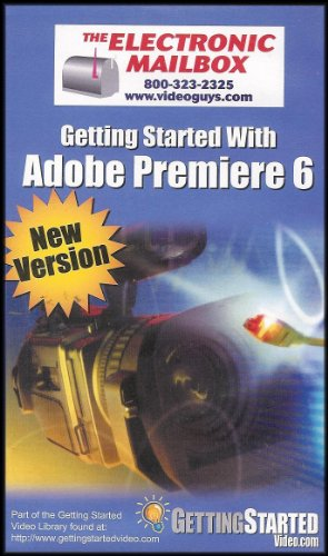 Getting Started With Adobe Premiere 6 (Video Editing) [New Version] VHS VIDEO