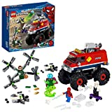 LEGO Super Heroes Marvel Monster Truck di Spider-Man vs. Mysterio, Set con Minifigure di Dottor Octopus e Spider-Gwen, 76174