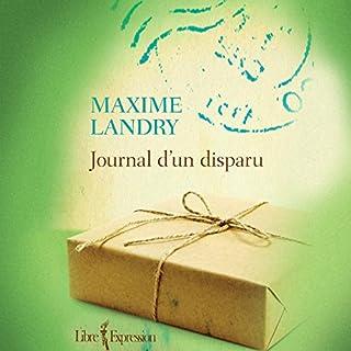 Page de couverture de Journal d'un disparu