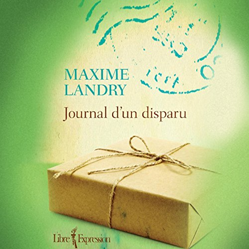 Journal d'un disparu audiobook cover art