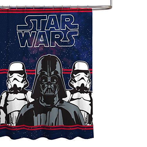 Star Wars Darth Vader Mikrofaser 177,8x 182,9cm Stoff Vorhang für die Dusche