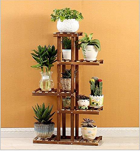 Alixin Pflanzenständer, mehrschichtig, symmetrisch, Einweihung, Pflanzenset, Leiterhalter für Blumenfeld, A