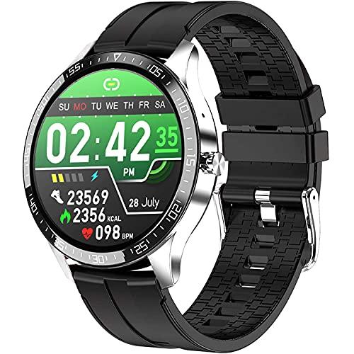 PHIPUDS Reloj Inteligente Hombre, Smartwatch Mujer  Llamada Bluetooth  IP67 Impermeable con micrófono Altavoz, Realizar y Recibir Llamadas, podómetro, calorías, para iOS y Android