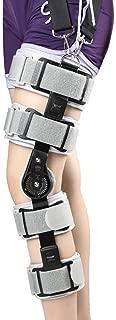 Ligera Rodilla articulada Rodillera Ajustable Ayuda de la Rodilla Ayuda de la Rodilla Ortesis de inmovilizador con Airbag for la Pierna Izquierda y la Pierna Derecha (Color : Grey)