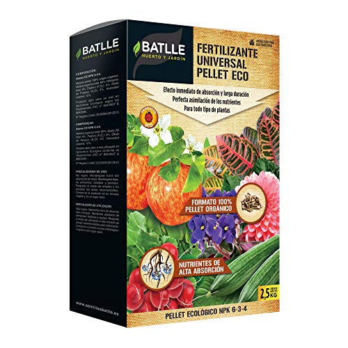 Abonos Ecológicos - Fertilizante Universal Pellet Eco 2,5kg