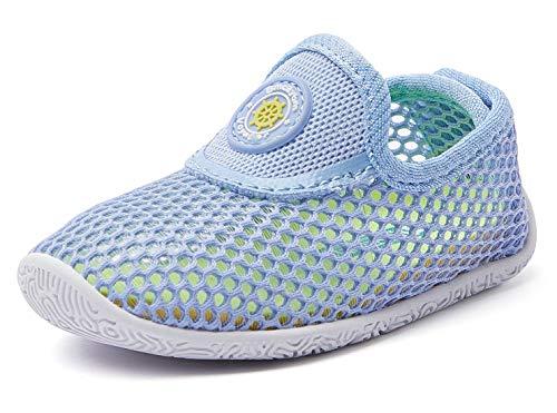 PUMA unisex baby Cabana Racer Glitz Hook and Loop Sneaker, Gray Violet-puma White, 9 Infant US