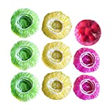 Elastic Food Storage Covers Reusable Stretch Plastic Wrap Bowl Covers Alternative to Foil for Family Outdoor Picnic 3 Size (60)
