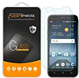 (2 Pack) Supershieldz for ZTE (Prelude Plus) Tempered Glass Screen Protector, Anti Scratch, Bubble Free