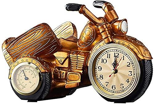 Titular de la botella de vino Reloj decorativo Motocicleta Reloj de vino, Estante de vino Freestanding, Titular de vino, Decorativo Botella de una sola botella Mostrar estante de vino, para la cocina