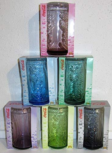 /Coca-Cola 2009 / Vasos / Edición Limitada / Juego de 6 / Mc Donald's