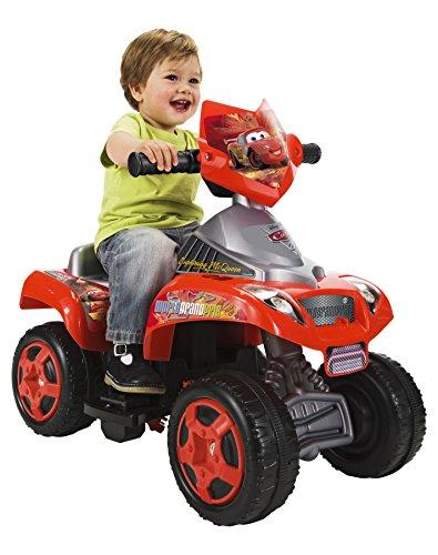 Feber 800007384 - Quad elettrico per bambini Nitro, motivo: Disney Cars, 6 V