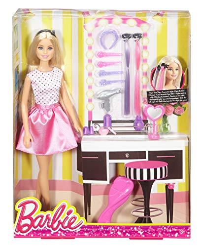 Barbie-DJP92DollPlaysetwithHairStylingAccessoriesMultiColor