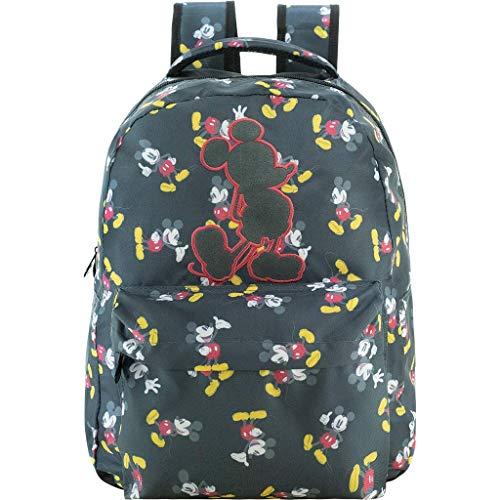 Mochila Mickey T6 - 9106 - Artigo Escolar Mickey Mouse, Cinza
