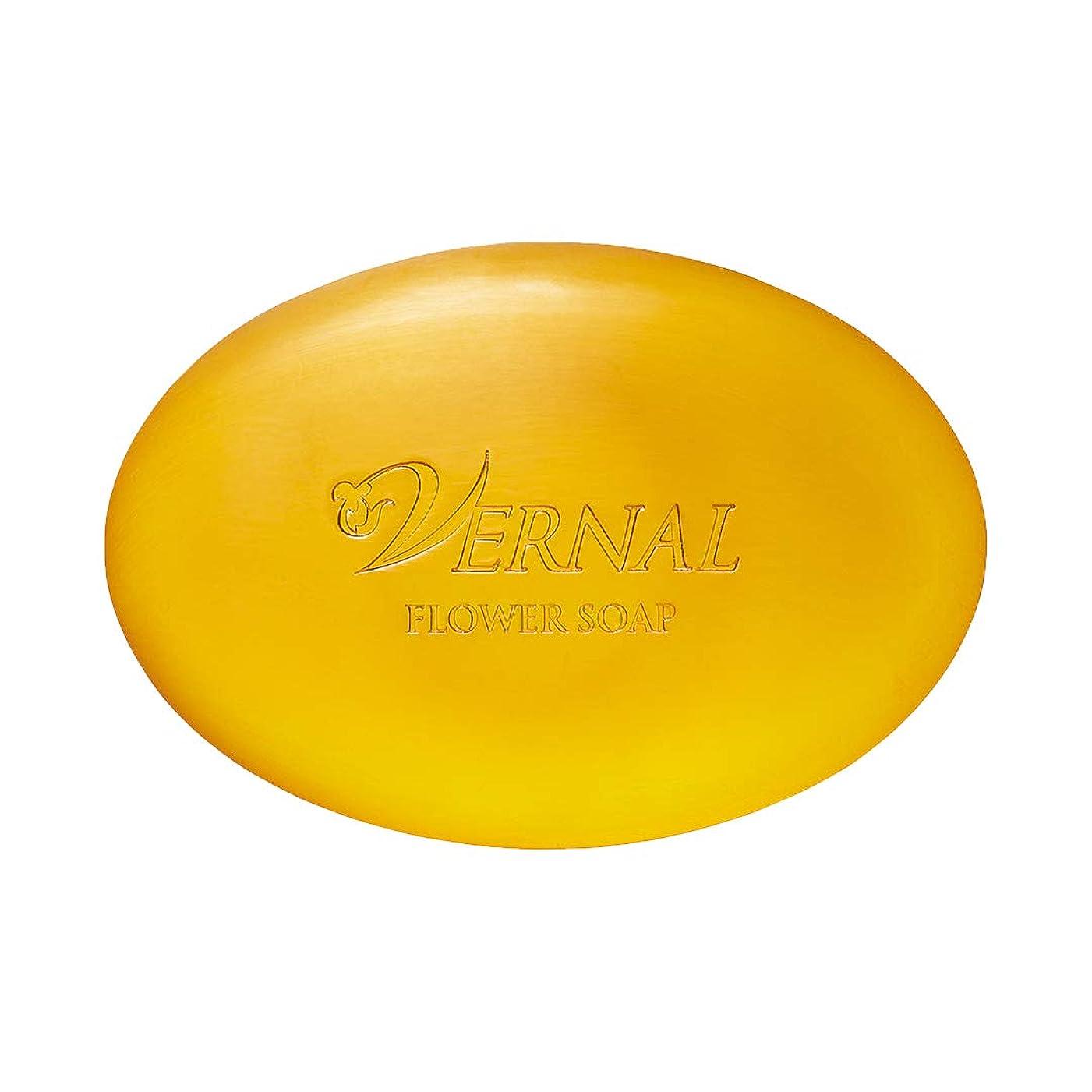 無視できる性能ホバートフラワーソープ110g ヴァーナル 洗顔石鹸 オーガニック 仕上げ用