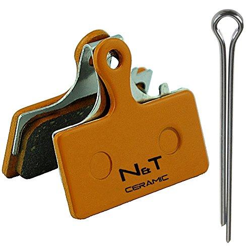 Noah And Theo NT-BP006/CR Pastillas de freno de disco de cerámica para Shimano BR R315 R317 R515 R517 R785 RS785 S700 CX75 CX77. Compatible con F01A F03C G01A G01S G02A G03C y G03Ti