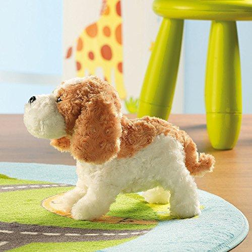 Playtastic Spielhund: Plüsch-Funktionshund mit Akustik- & Berührungssensoren (Lebensechter Hund mit Funktion)