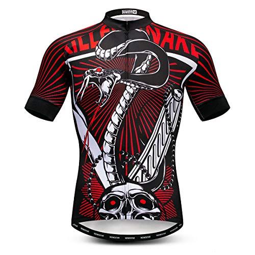 Weimostar - Maglie da ciclismo da uomo per bicicletta, Uomo, 29, For Chest 45.6-48'=Tag XXL