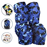 Innovative Soft Kids Knee and Elbow Pads with Bike Gloves | Toddler Protective
