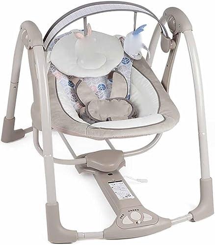 GUO Intelligent bébé électrique chaise à bascule bébé berceau basculer vers l'arrière pour dormir Chambres