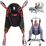 ZIHAOH Kompatibler Ganzkörpergurt Patientenlifter Sling Treppenrutsche Transfergurt, Design Mit Geteiltem Bein, Krankenpflege, ältere Menschen, 507 Lb -