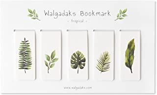 Monolike Magnetic Bookmarks Tropical, Set of 5